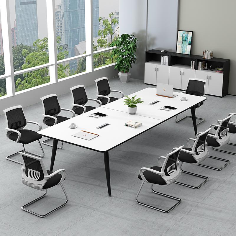 办公家具会议桌长桌办公桌简约现代会议室桌椅组合长条桌大洽谈桌