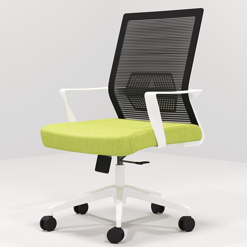 办公椅靠背椅简约现代家用网布透气办公室升降职员坐椅会议椅转椅