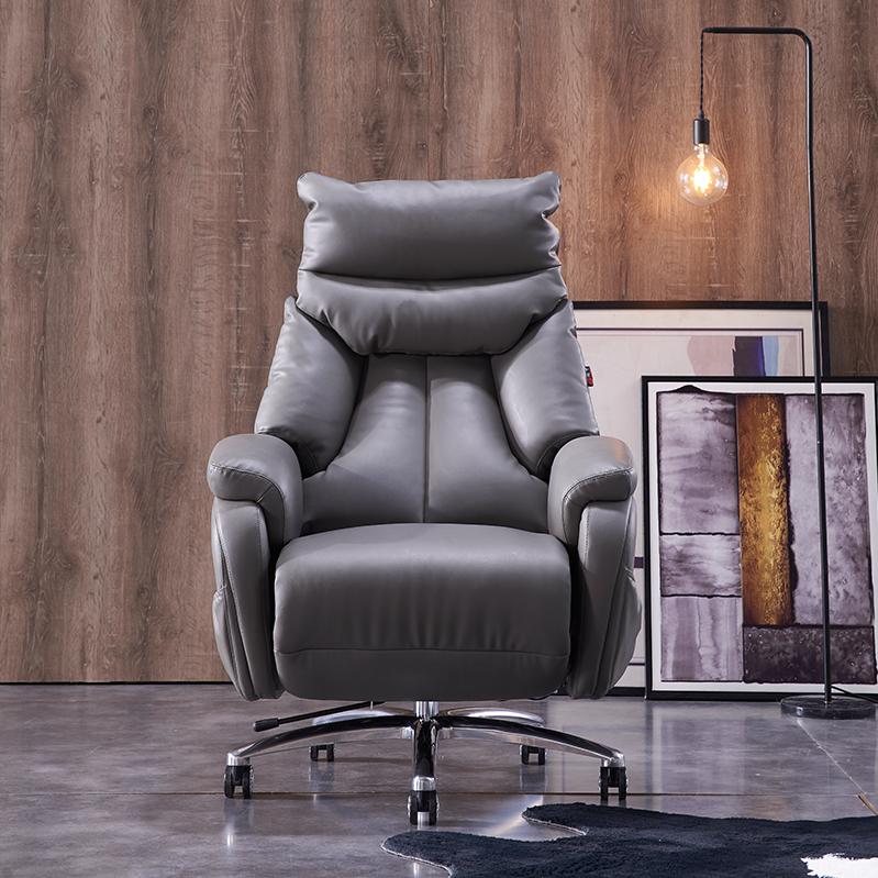 老板椅家用电动可躺电脑椅沙发椅办公椅舒适椅子大班椅转椅S968